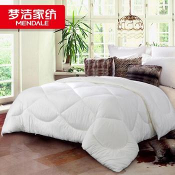 梦洁被芯加厚保暖被子梦洁家纺厚被1.5/1.8m床上用品 舒柔四孔冬被