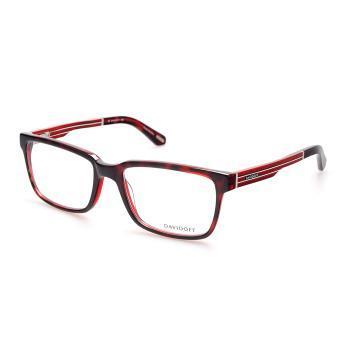 DAVIDOFF大卫杜夫92010 酒红色全框板材眼镜架