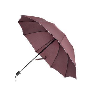 雨伞加大经典商务格子有效拒水易甩干折叠晴雨两用男女通用