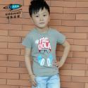 2013夏装新款儿童短袖T恤纯棉 男童韩版学院风卡通印花T恤