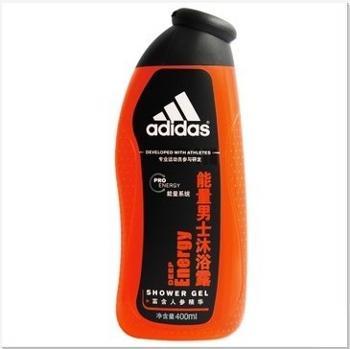 Adidas/阿迪达斯男士活力沐浴露-能量400ml焕发活力正品