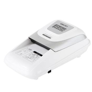 得力(deli)3929 便携式小型验钞机 双电源精准验钞仪 语音提示