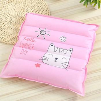 夏季可爱卡通龙猫冰垫可注水坐垫凉垫降温冰枕冰凉冰晶垫汽车垫