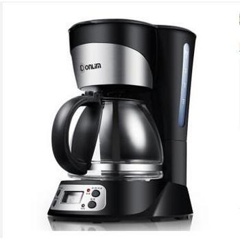 东菱(Donlim)DL-KF300 750ml大容量 黑色滴漏式咖啡机