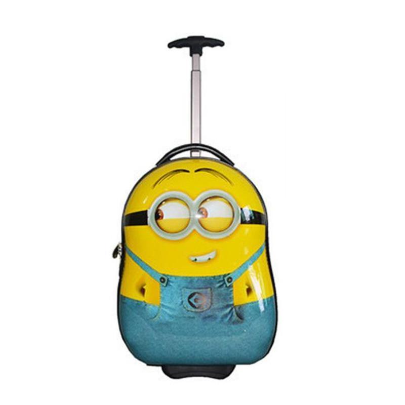 可爱小黄人行李箱儿童拉杆箱卡通旅行箱