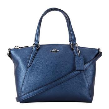 蔻驰(COACH)女包 女士饺子包 单肩包 斜挎包 手提包 F22316 金属蓝色(SVLBI)