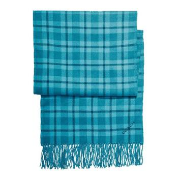蔻驰(COACH) 女士羊毛围巾 F56204 深蓝绿色(CEH)