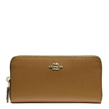 蔻驰(COACH) 女包 女士长款钱包 休闲时尚钱夹 F16612 沙色(IMLQD)