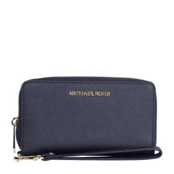 MICHAEL KORS 迈克科尔斯 女士 拉链 钱夹 手拿包 黑色35F8GTVW7L