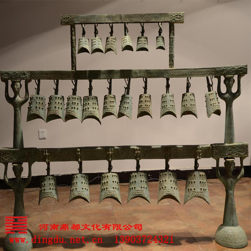 河南鼎都 专业青铜器仿制基地 青铜乐器 工艺品--曾侯乙编钟
