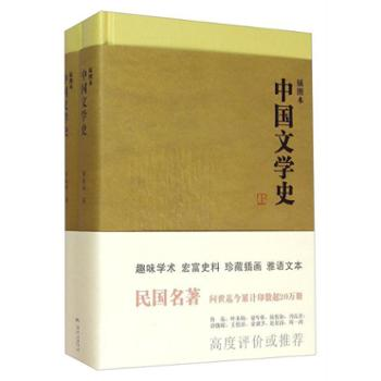 中国文学史(插图本上下)郑振铎花城出版社文学文学理论