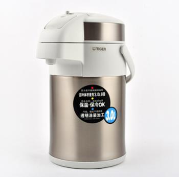 虎牌(Tiger)不锈钢保温壶气压式热水瓶 MAA-A30C 3L