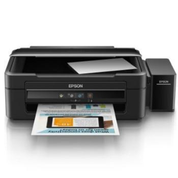 爱普生(EPSON)L360墨仓式打印机一体机(打印复印扫描)