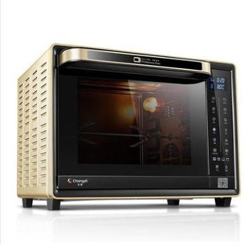 长帝(changdi)32升L智能app搪瓷内胆家用电烤箱CRWF32PDJ