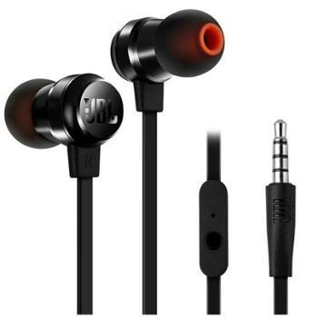 JBL T280A 立体声入耳式耳机/手机耳机/游戏耳机 带麦可通话