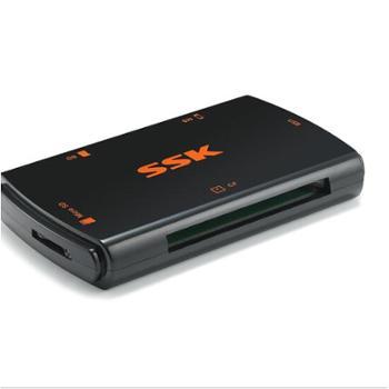 飚王(SSK)SCRM059 风行 多合一读卡器 USB3.0 黑色