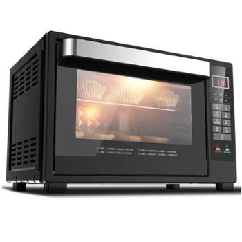 美的(Midea)32L大容量家用多功能电烤箱T7-L325D 上下独立控温 全自动烘焙智能电烤炉 家电