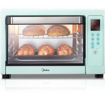 美的(Midea)PT4001 家用多功能电烤箱 40升大容量 APP控制 上下管独立控温 专业烘焙易操作烘烤蛋糕面包