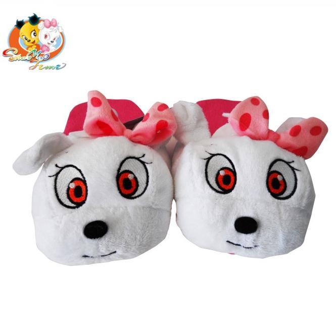 山猫和吉咪吉米毛绒拖鞋 卡通动漫儿童礼物