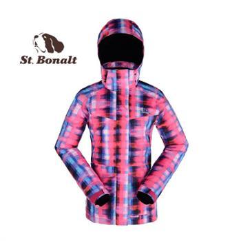 圣伯纳 2014冬季新款迷彩户外滑雪服 防风防水透气保暖 14287025