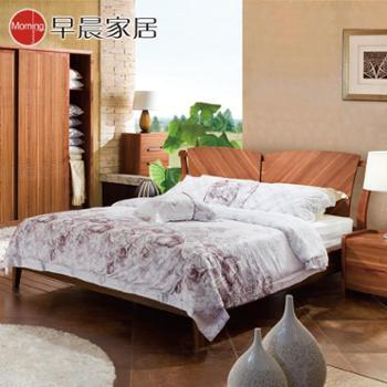 早晨家居 双人床 卧室家具实木床 MA-910