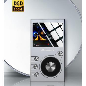 纽曼(Newsmy)无损音乐hifi播放器G68G内存铁灰色金属机身mp3DSD可插卡便携随身听无损音质播放器