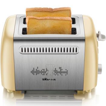 烤面包机小熊多士炉6档烘烤不锈钢吐司机早餐机DSL-A02W1
