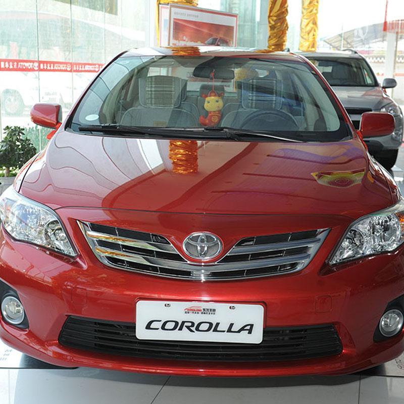 一汽丰田汽车corolla 卡罗拉 红色 1.8l gl-i