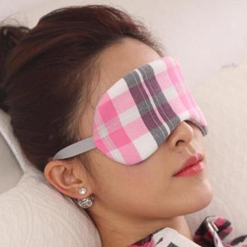 Qsupport骄斯博负离子远红外线天然乳胶护眼罩贴合眼部曲线缓解视疲劳