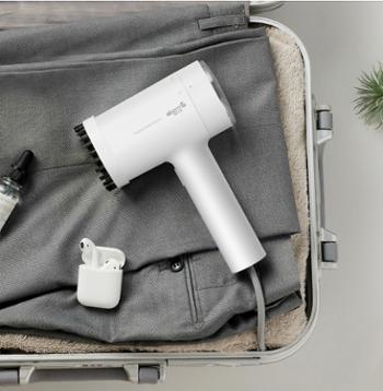 德尔玛手持挂烫机家用蒸汽刷电熨斗便携式熨烫机