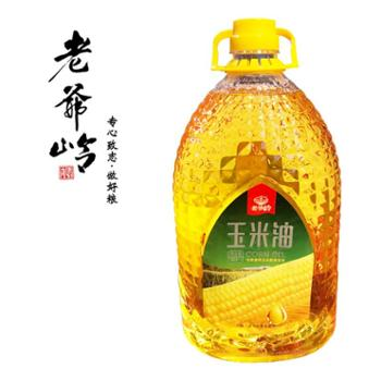 老爷岭玉米油5L