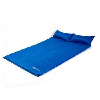 维仕蓝(Wissblue)户外野营露营防潮垫双人自动充气垫子充气床WA8040蓝色