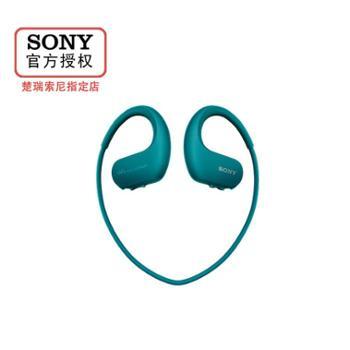 Sony/索尼NW-WS413后挂式防水防尘海水可用极速快充内置4G存储MP3耳机多彩色可选跑步专用高保真高解析度年轻时尚运动播放器