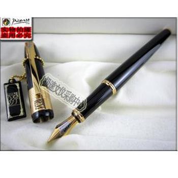 毕加索9999法国留辛纪念钢笔,宝珠笔
