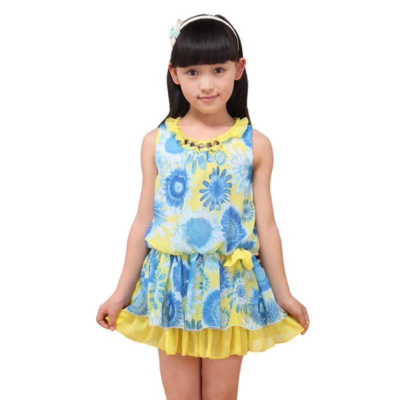 梵贝拉童装儿童连衣裙夏装新款
