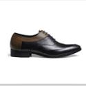 JYBOLO精英保罗 春季商务真牛皮鞋男士鞋漆皮休闲鞋 韩版英伦 正装鞋G84