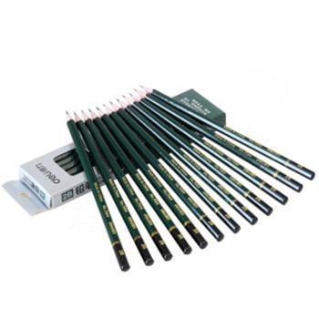 得力(deli)7084安全考试专用填涂答题卡2B木质铅笔/学生铅笔12支/盒