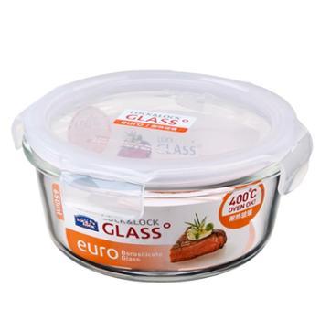 乐扣乐扣(LOCK&LOCK)格拉斯耐热玻璃保鲜盒LLG831650ML