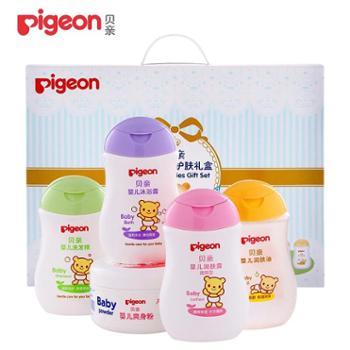 贝亲(Pigeon)婴儿清洁护肤用品IA119(礼盒装)