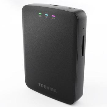 东芝(TOSHIBA)无线WIFI1TB2.5英寸USB3.0移动硬盘