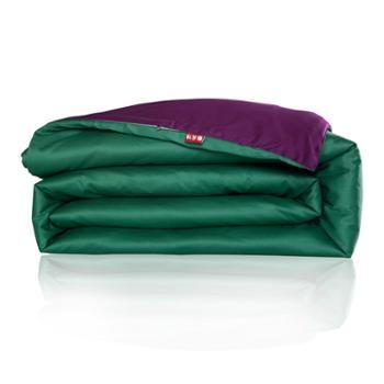 科罗娜家纺床上用品素色双拼全棉活性印花纯棉纯色四件套单件单人双人