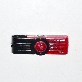 金士顿U盘8G红色蓝色USB2.0