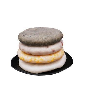 吊角楼 湘西土家特色糕点小吃年粑4袋装(四种口味搭配)