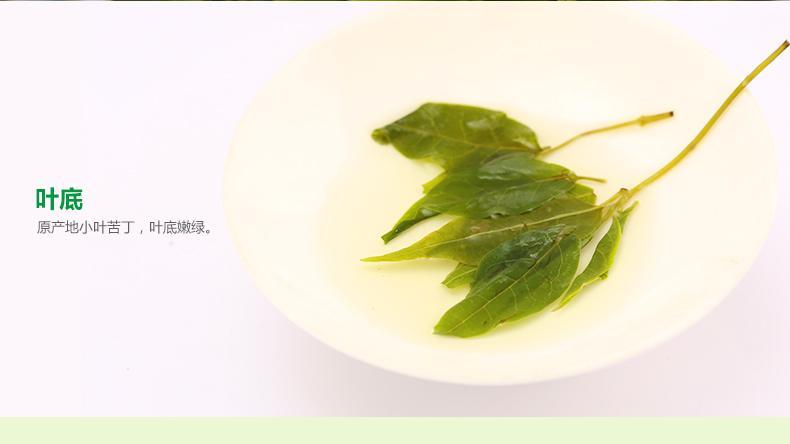小叶苦丁茶 青山绿水茶叶四川野生嫩芽