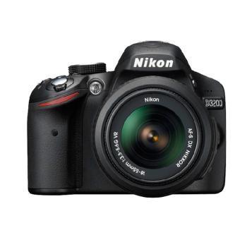 Nikon/尼康 D3200 套机 含18-55VR镜头 数码单反相机 超高生价比 高清连接播放