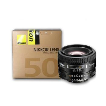 Nikon/尼康 AF 50mm f/1.4D 单反镜头 大光圈 人像镜头 背景虚化效果好