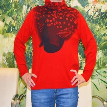 女士羊毛羊绒衫真人实拍真实库存北京发货