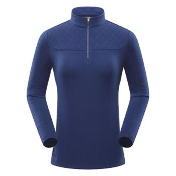 BLACKYAK布来亚克女款保暖抓绒衣户外登山徒步半拉T恤FZW310