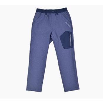 BLACKYAK/布来亚克儿童户外厚款长裤冬季运动休闲抓绒长裤FZK477