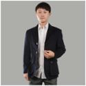 2013圣巴奈特 男款黑色羊绒休闲西装 A1156款